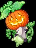 Red hot pumpkin transparent