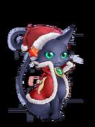 Wiz (Fire Christmas Cat) transparent
