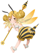 Thunder Bee-girl transparent