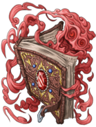 Wizard Book (Crimson) transparent