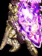 Gold Knight Duke transparent