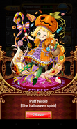 Puff Nicole (The halloween spirit) 3D