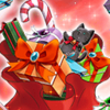 Large Christmas Present (Red) Icon