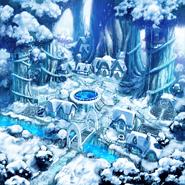 Snowy Forest Village Rallydon