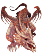 Cursed Dragon transparent