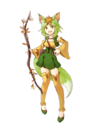 Artemis (The Holy Priestess) transparent