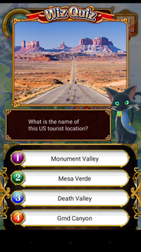 Wiz quiz - Monument Valley