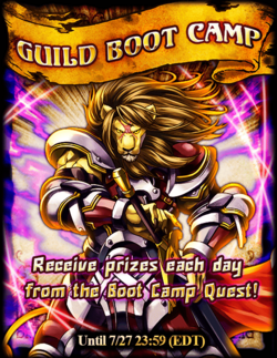 Guild Bootcamp! July 2015 Announcement