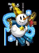 Snowman (Sapphire) transparent