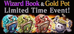 Wizard book event