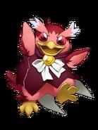 Step Penguin (Scarlet) transparent