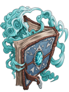 Wizard Book (Blue) transparent