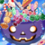 All blue candies Icon