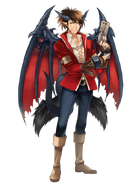 Flare Devil Gunner transparent