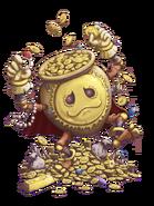 The Golden Pot transparent