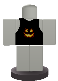 Halloween Vest Button