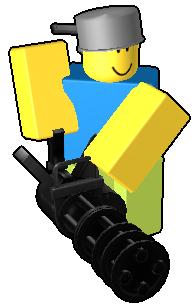 Minigun Display