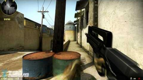 CS GO FAMAS Weapon Guide Burst-Fire Mode Does More Damage Than Fully Automatic