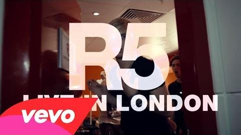 R5 - (I Can't) Forget About You (Live In London)