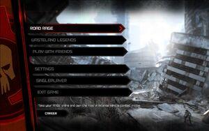 Rage multiplayer menu