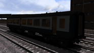 Doncaster Works gutted Mk II carriage