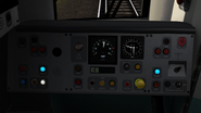 Class 377 cab controls