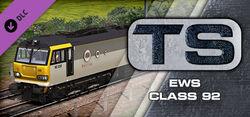 EWS Class 92 Loco Add-On Steam header