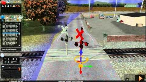 RailWorks 2 - How to set up SMM Digital RR Crossings