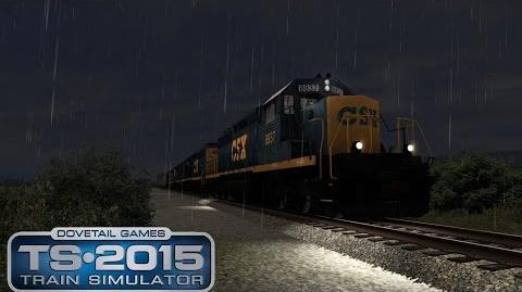 TS2015 EMD SD40-2 CSX