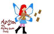 Adyson the Almond Brittle Fairy drawn by amathist1998