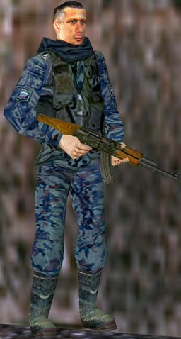 File:Russian soldier in Kosovo.png