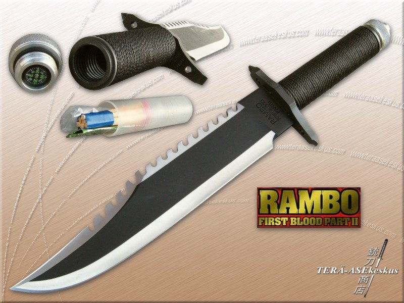 Rambo II Knife | Rambo Wiki | FANDOM powered by Wikia