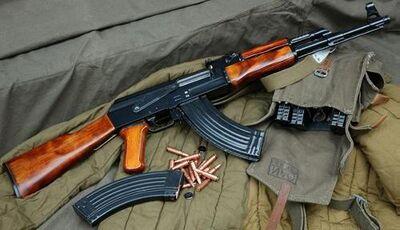 Rifle AK 47 2 m