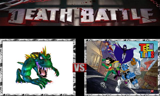 File:DEATH BATTLE Idea - Lizzie Vs. The Teen Titans.png