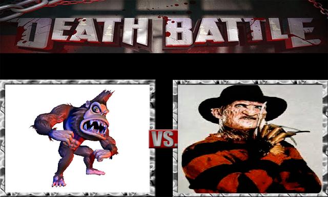 File:DEATH BATTLE Idea - George Vs. Freddy.png
