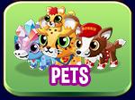 Pets button