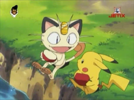File:Pikachu and Meowth.png