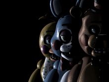 FNaF2 Title Screen