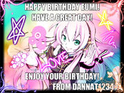 Eumi Birthday Picture