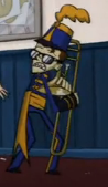 Hes all like OMG DONT TOUCH MY TROMBONE