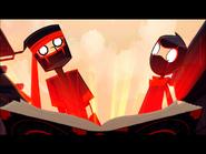 First Ninja & Cunningham Entering Nomicon