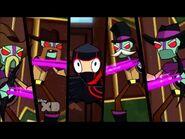 Ninja and cowboy bots