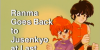 Ranma Goes Back to Jusenkyo at Last