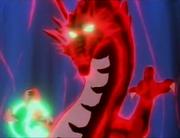 Twins use Fire Dragon technique