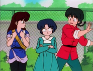 Akane stops Ranma flirting - Another Suitor