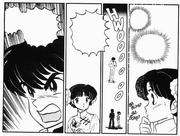 Ranma threatens Mikado