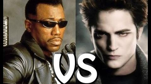 Blade VS Edward Cullen (Twilight) The Rap Battle