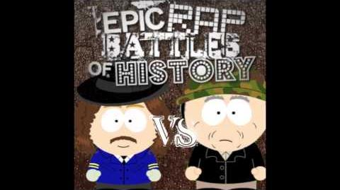 Custer vs George S Patton. Epic Fanmade Rap Battles of History 12-0