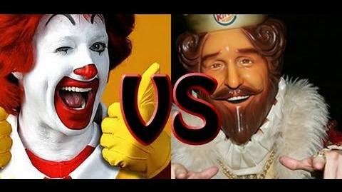 Ronald McDonald vs The Burger King Epic Rap Battles