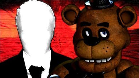 Freddy Fazbear vs. Slenderman - Video Game Rap Battle